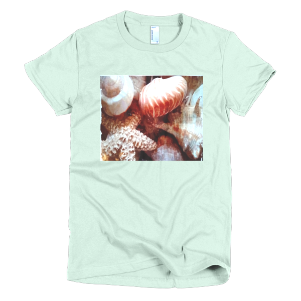"""Shellseakers,"" T-Shirt - T-shirts - COOLEST PRINTED T-SHIRTS, TANKS, TOTES & HOODIES BY JANET'S ARTWORK - 4"