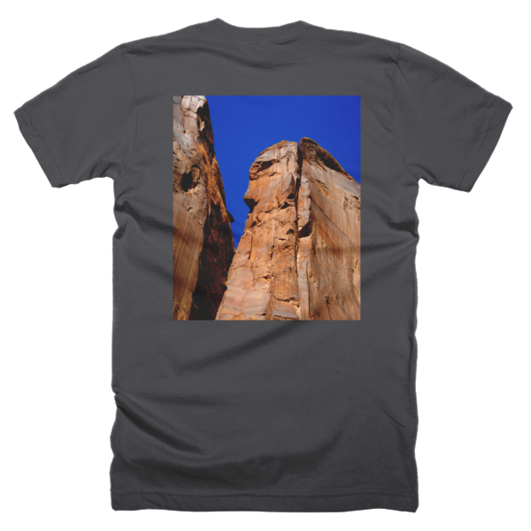 """Monoliths,"" T-Shirt (man/back) - T-shirts - COOLEST PRINTED T-SHIRTS, TANKS, TOTES & HOODIES BY JANET'S ARTWORK - 2"