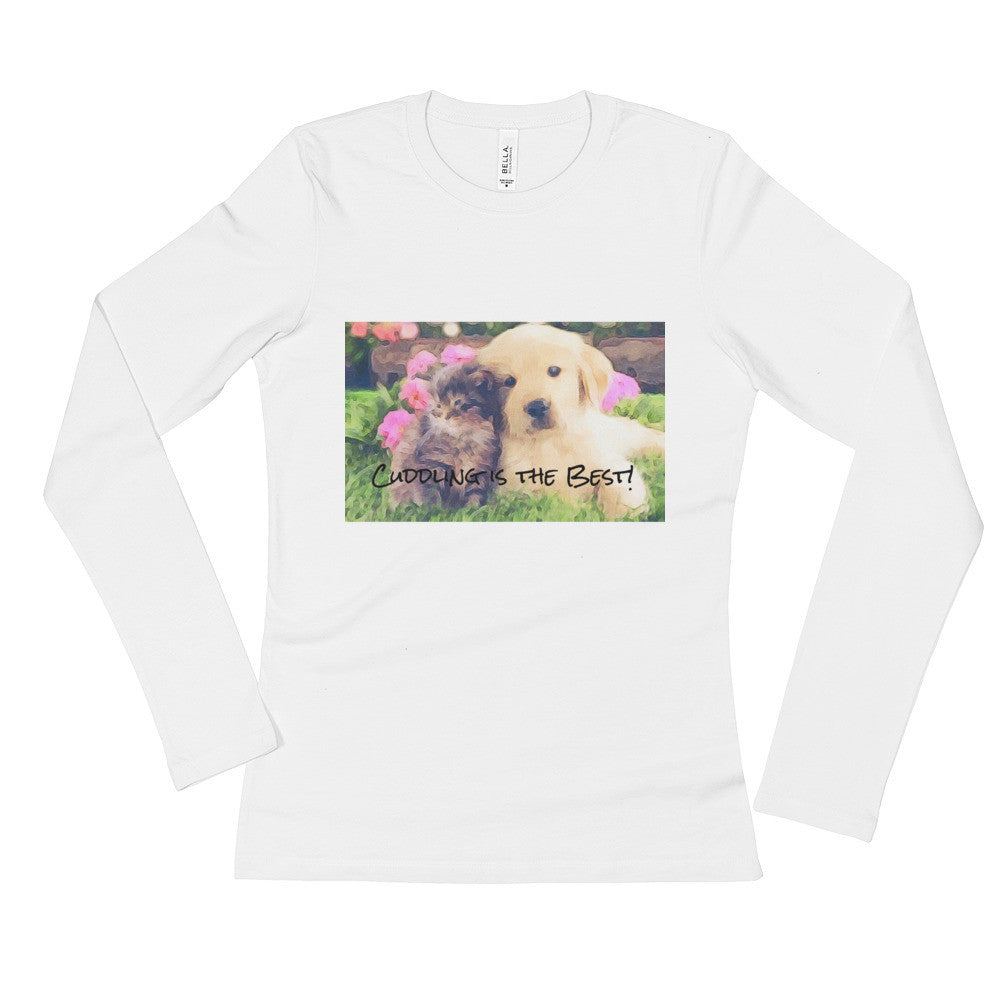 A pet lover's women's t shirt by Janet's Artworks.