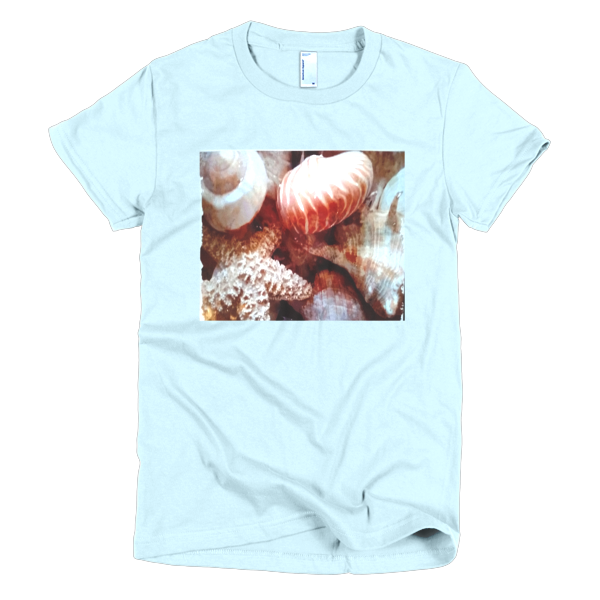 """Shellseakers,"" T-Shirt - T-shirts - COOLEST PRINTED T-SHIRTS, TANKS, TOTES & HOODIES BY JANET'S ARTWORK - 3"