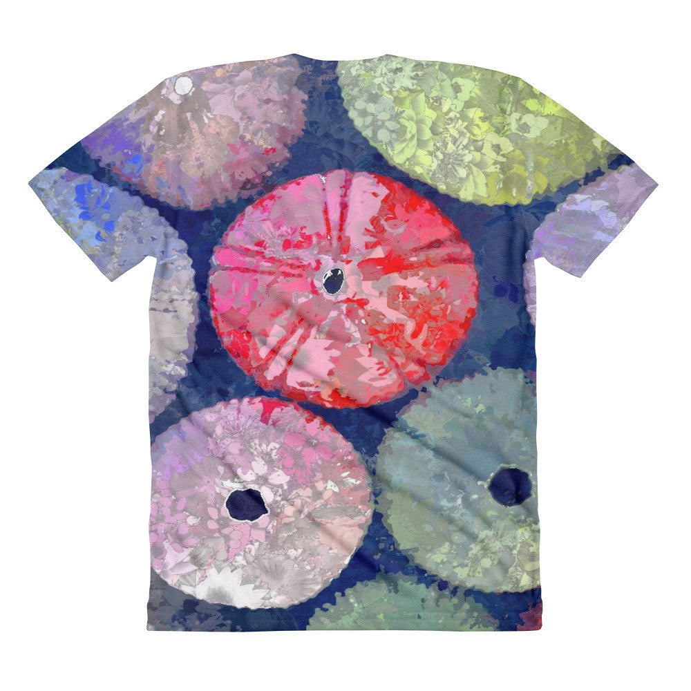 """On the Half Shell,"" All-Over Printed Sublimation women's crew neck t-shirt"