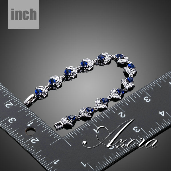 Romantic -Heart Zirconia Bracelet