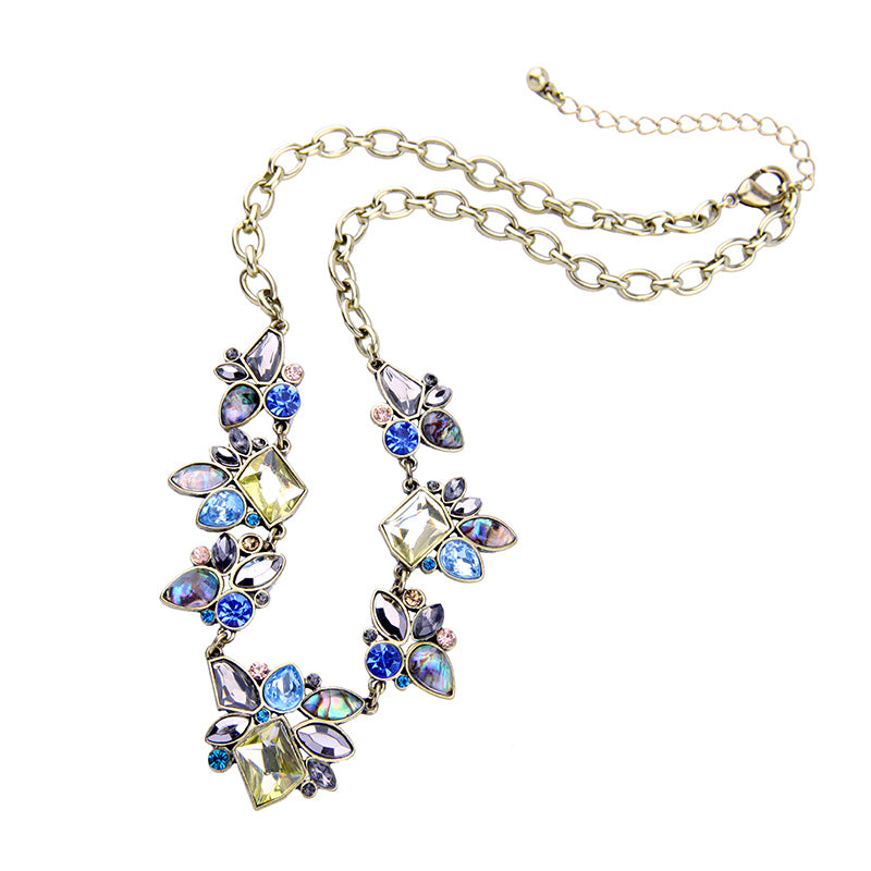 Delicate Blue Necklace (Free Shipping)