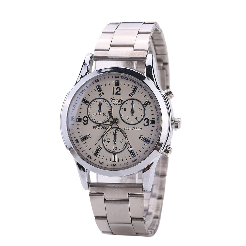 Stainless Steel Men and Women Watch