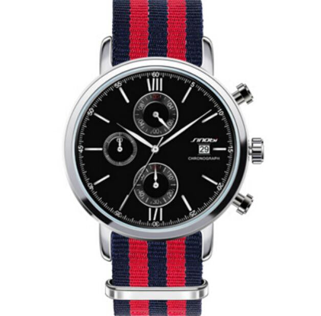 A sport men's watch with a military look.