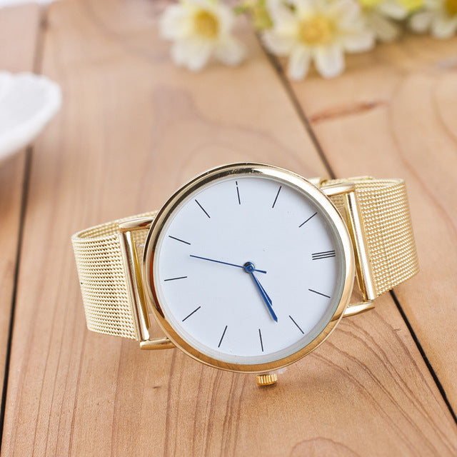 Smart Quartz and Stainless Steel Watch for Women