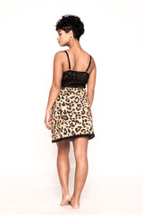 Roar Cheetah and Black Chemise