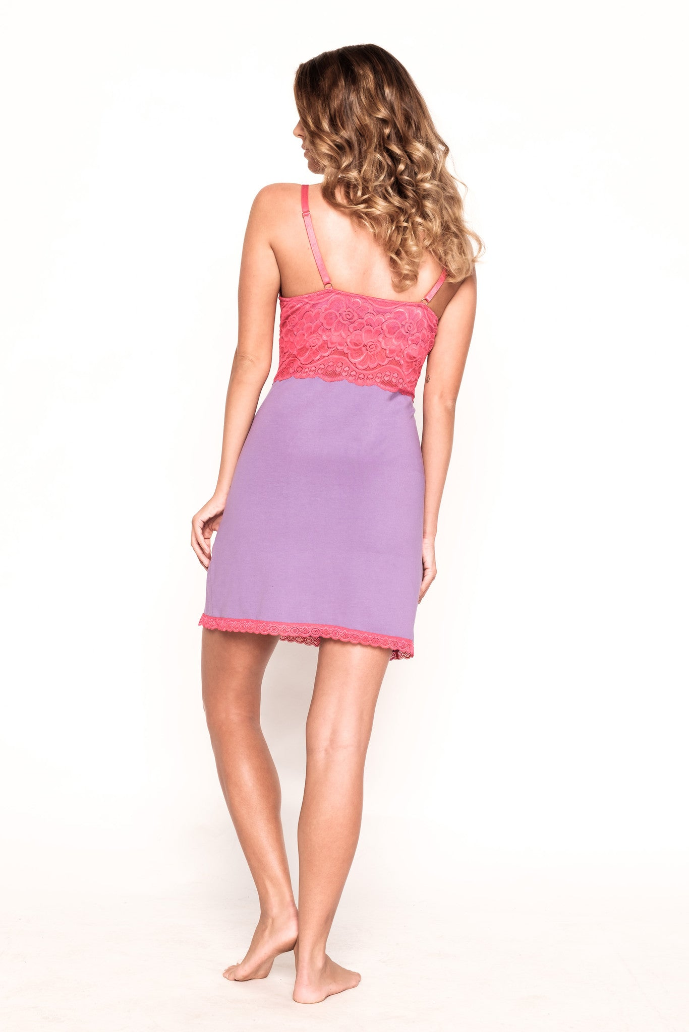 Dior- Pink and Purple Chemise