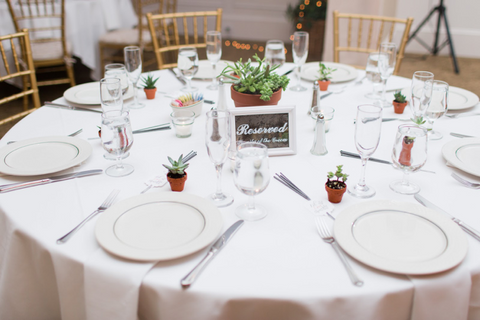 Not Only Will Your Guests Be Receiving An On Trend Gift But Tables Also Bursting With Beautiful Live Plants Enhance Own Wedding Decor By