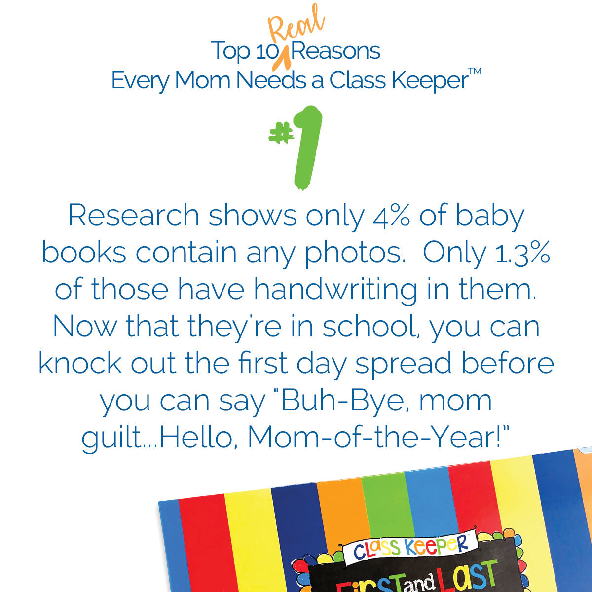 top ten reasons why every mom needs a class keeper