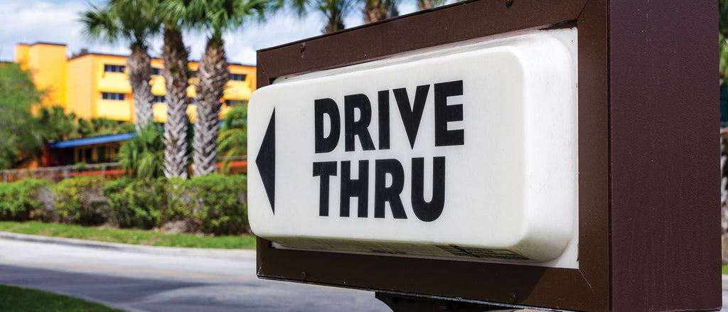 Reason #2 Avoid the last-minute dash through the drive-thru.