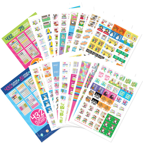 Busy Mom + Every Gal Sticker Bundle on Amazon Prime Canada