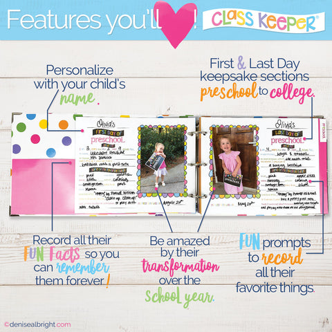 Features of Class Keeper®