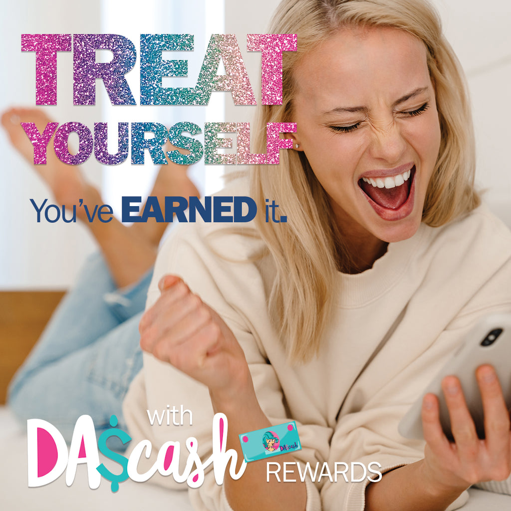 DAS Cash:  The FREE Rewards program by Denise Albright® to earn free stuff like planners, calendar pads, budgeting tools & gratitude journals.