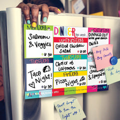 Attach Magnets to Mount on Your Fridge!