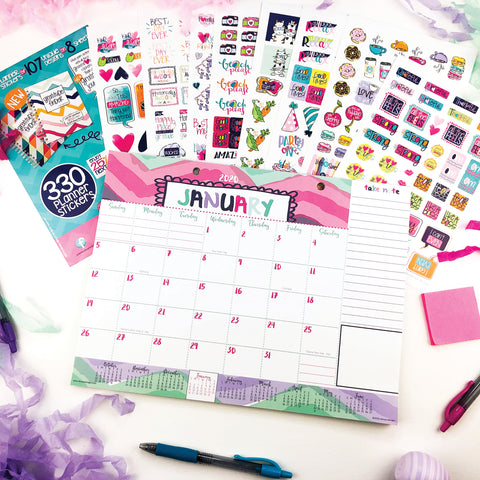 Monthly Planner Pad + Stickers on Amazon Prime Canada