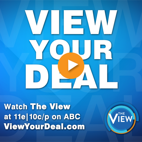 Watch us on the View!