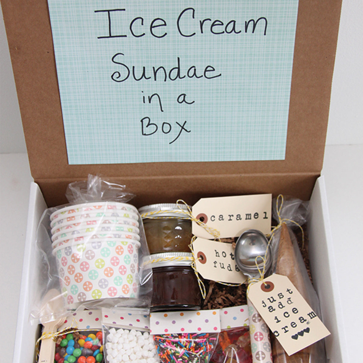 Ice Cream Sundae Kit by Smashed Peas and Carrots