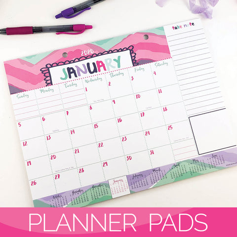 Planner Pads on Amazon Canada