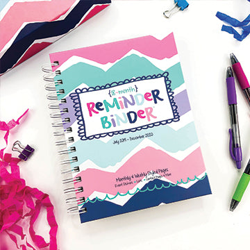 Reminder Binder - Chevron