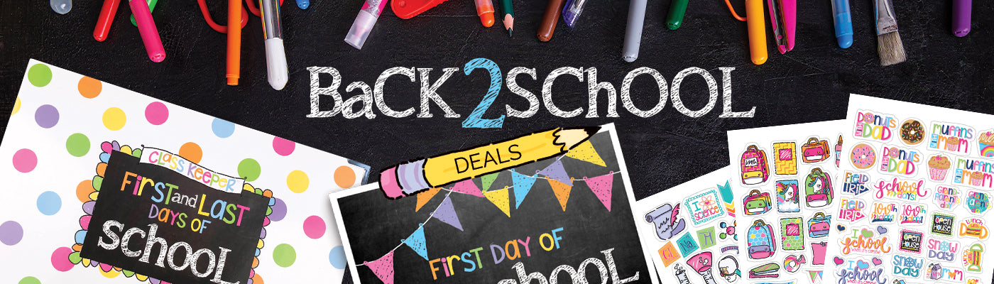 Back 2 School Deals by Denise Albright