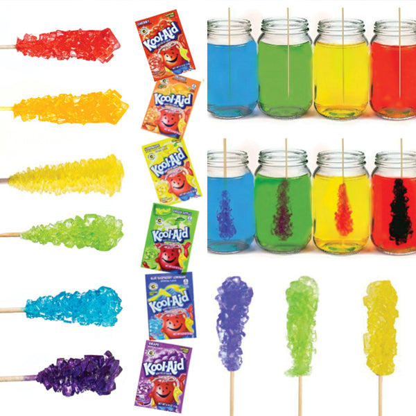 Kool-Aid Rock Candy