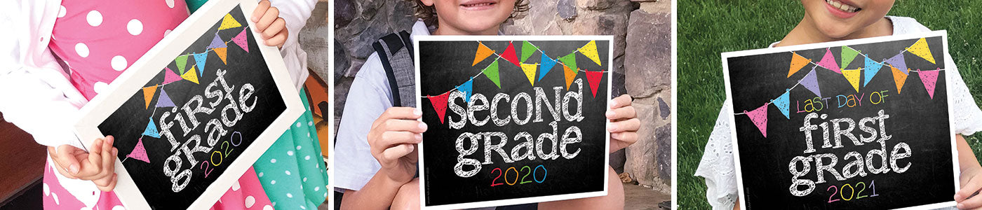 First/Last Day of School Sign Printables