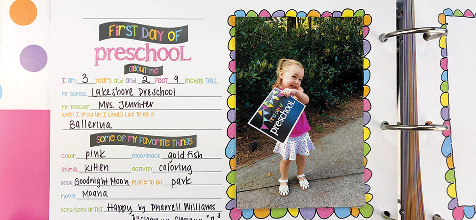 Class Keeper™ Easiest School Days Memory Book