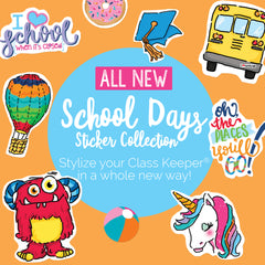 School Days Planner Stickers by Denise Albright