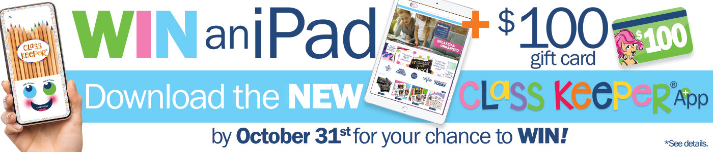 Win an iPad + $100 Denise Albright Gift Card HERE!