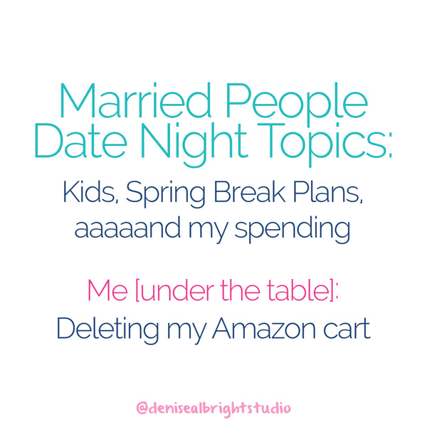 Date Night Topics #MomLife Joke