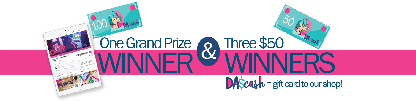 One Grand Prize Winner & 3 $50 Prize Winners from Denise Albright®