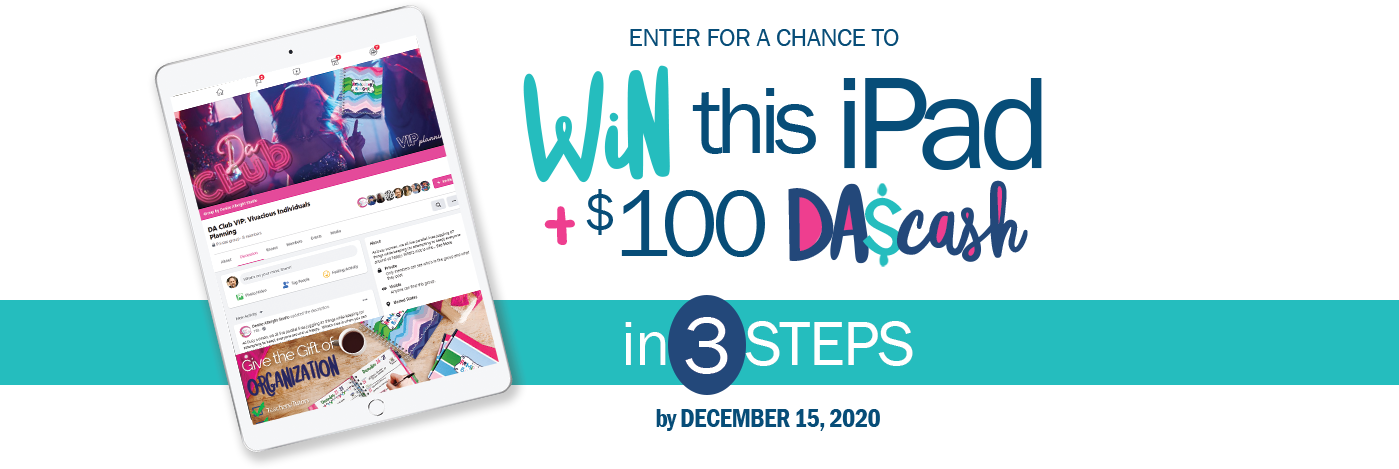 Enter for a Chance to Win this iPad from Denise Albright®