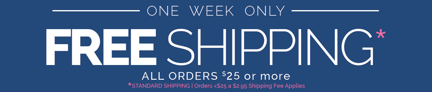Free Shipping Deal Extended on Denise Albright®