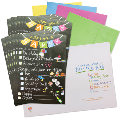 Funny Greeting Card Set