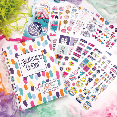 Gratitude Finder® + Grateful Heart Stickers on Amazon Prime Canada