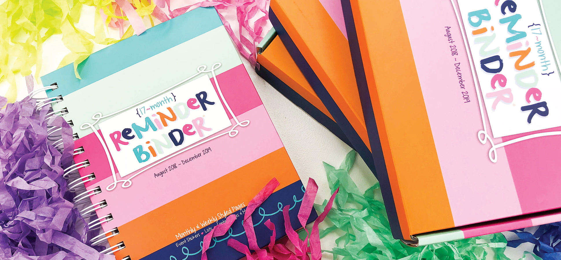 reminder binder planner monthly weekly daily 17 month