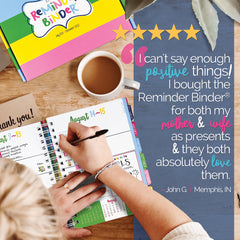 Reminder Binder® Makes the Perfect Gift