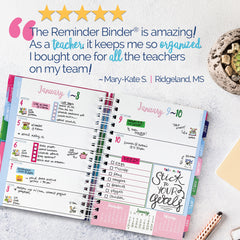 Reminder Binder® is Perfect For Teachers