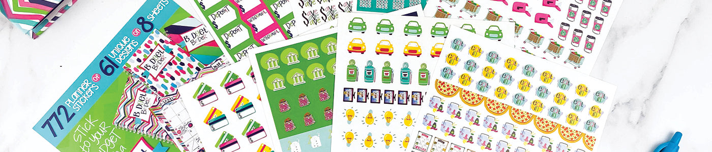 NEW! Budget Builder Stickers