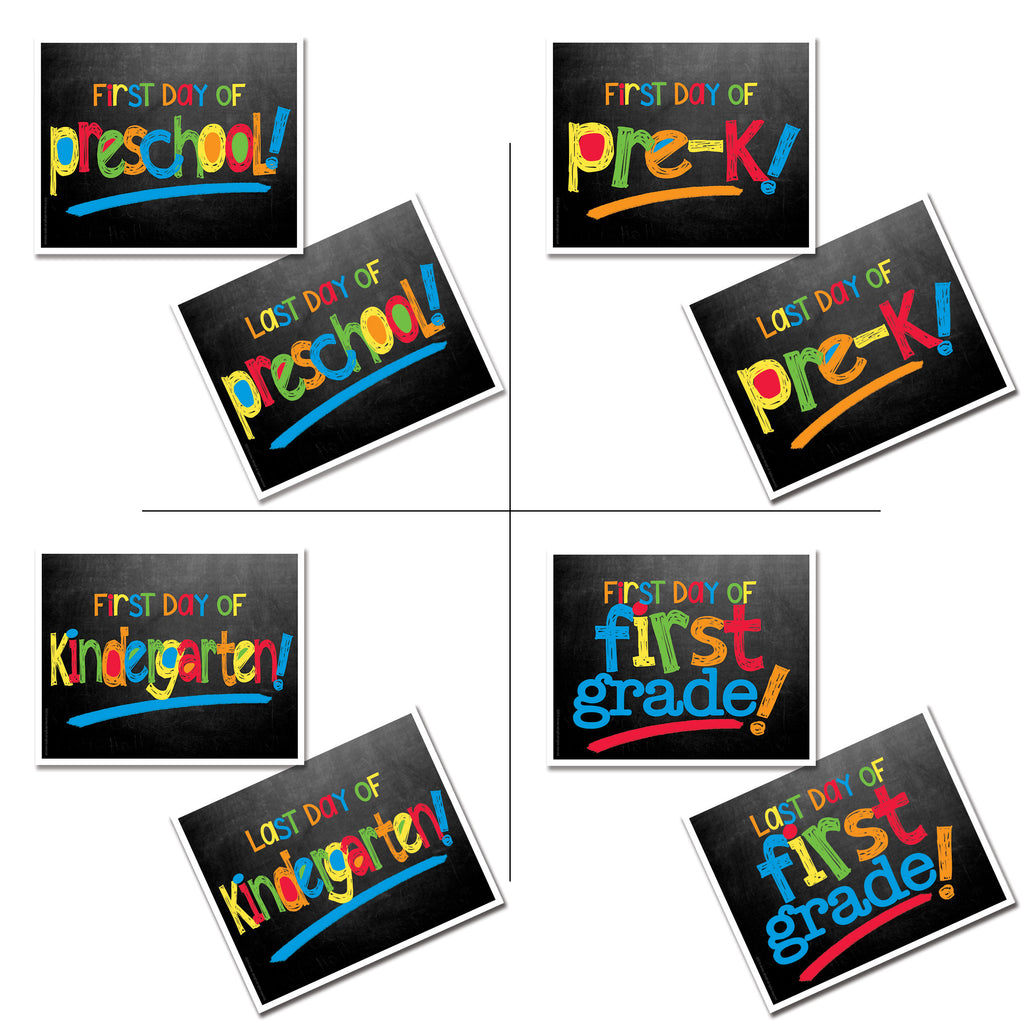 back to school photo prop digital download - grades, school, first day of school, last day of school, pictures