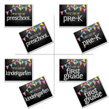 back to school cards - grade, school, first day of school, pictures, prop