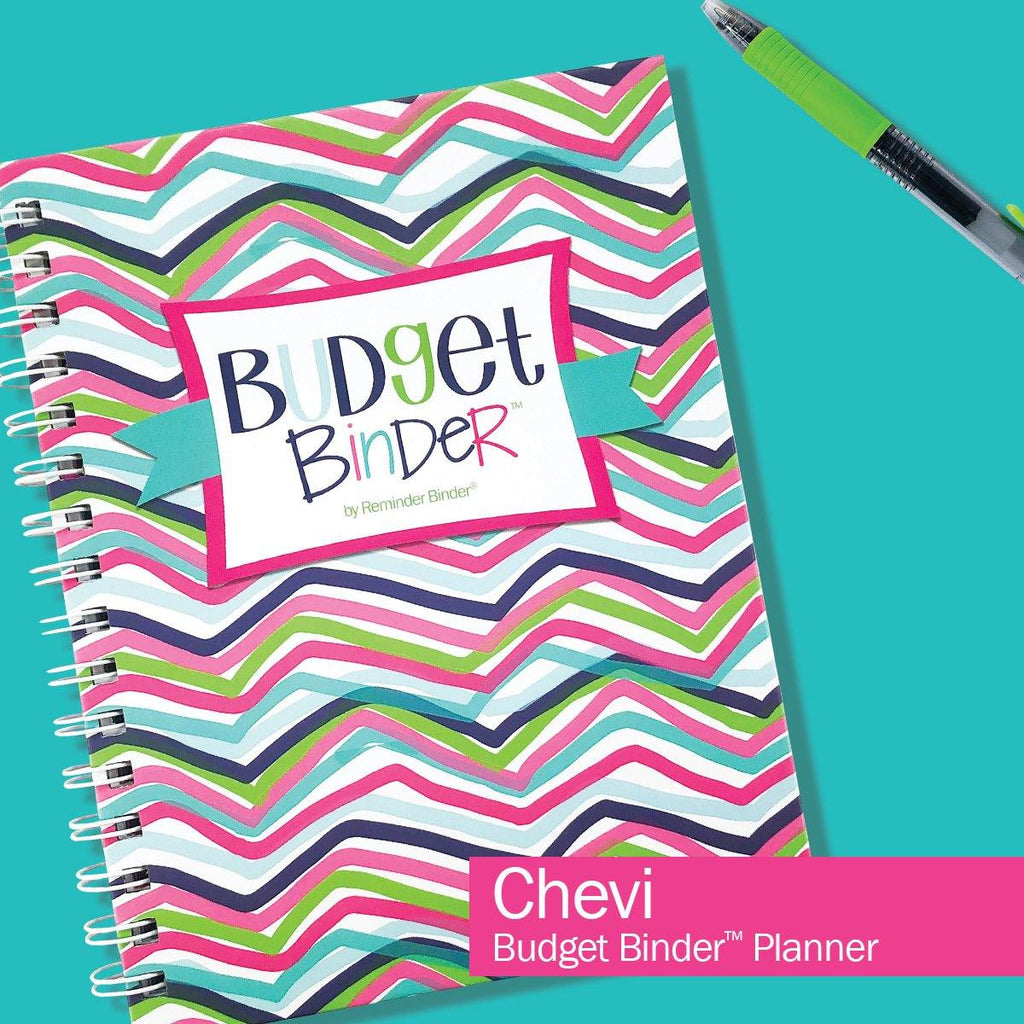 Budget Binder™ Bill Tracker Financial Planner | Chevi