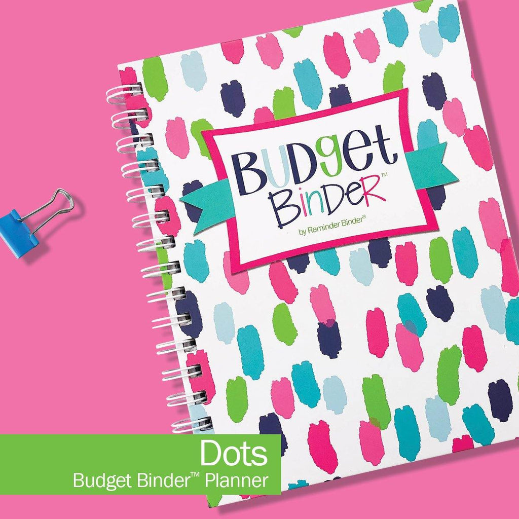Budget Binder™ Bill Tracker Financial Planner | Dots