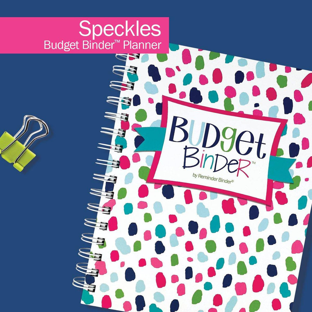 NEW! Budget Binder™ Bill Tracker Financial Planner | Speckles
