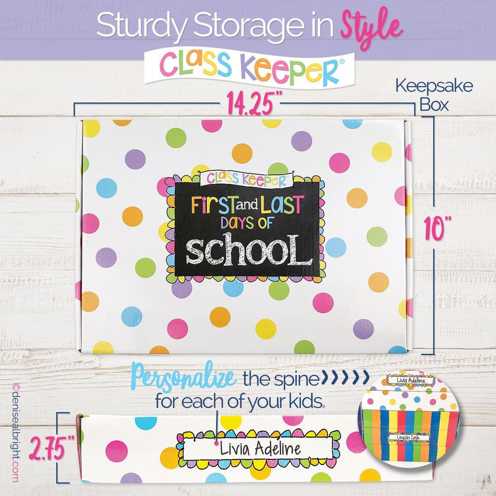 Imperfectly Perfect Class Keeper® Easiest School Days Memory Book