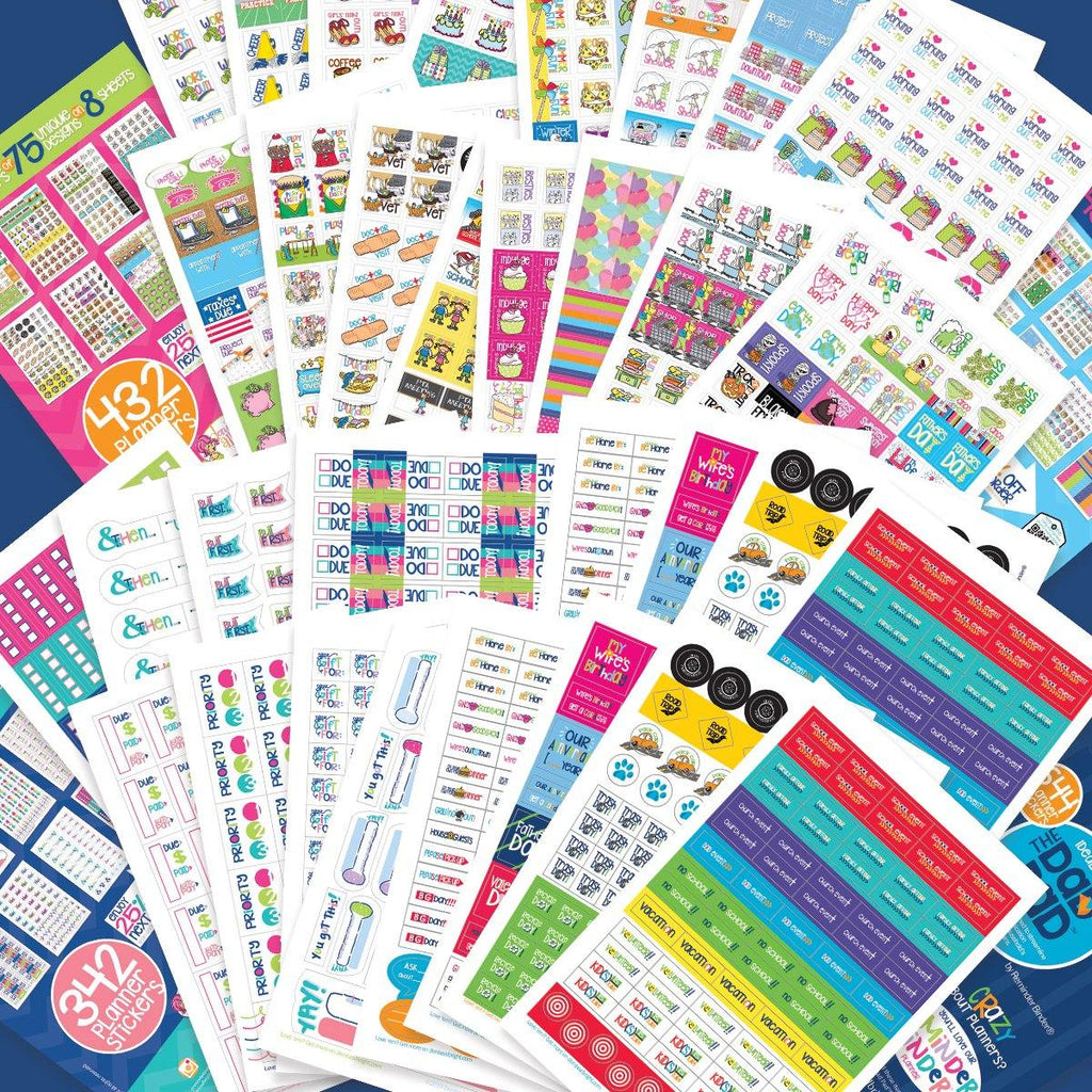 1850 Stickers EPIC Bundle | Event, Goal, Mom, Family | Fits Any Planner