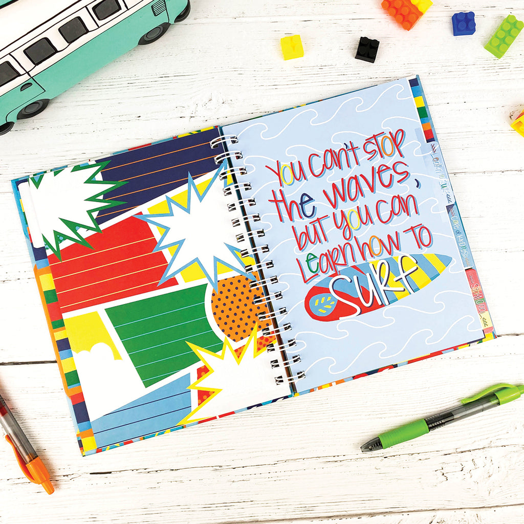 NEW! Gratitude Finder® Journals FOR BOYS with 177 Stickers | 3 Styles