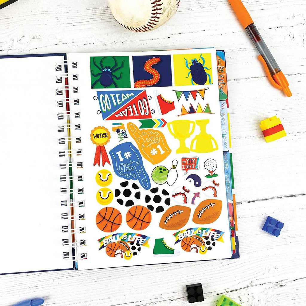 NEW! Gratitude Finder® Journal | Navy Polo