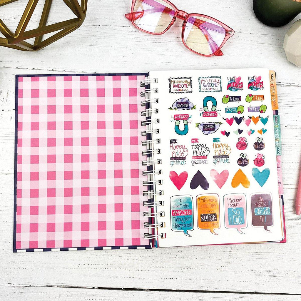 Gratitude Finder® Journal | Gingham Navy
